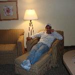 Homewood Suites Kingwood, TX -hotel living room