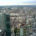 View from Maintower - Hauptbahnhof area