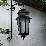 Beautiful iron lamp
