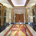 Fairy Tale lifts corridor at Burj Al Arab!