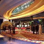 Beautiful lower lobby at Burj Al Arab!