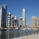 View of Dubai Marina.