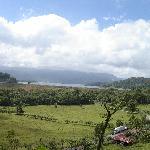 Neighboring Farm and Arenal Lake