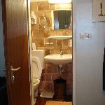Another view of the ridiculously small bathroom