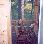 Screened-in porch