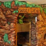 bunk beds in wolf den