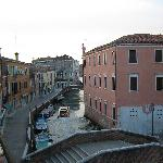 View from room 35 towards the Giudecca Canal
