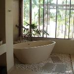 The bathTub with nice view