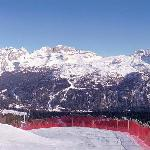View towards Dolomiti di Brenta, Madonna di Campiglio