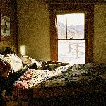 The Bedroom.  I would have made my bed if I'd known this would be published.