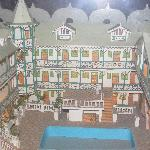 model of the Kinam in the Lobby
