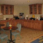 Microtel Inn Latham, NY - Breakfast corner