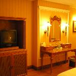 Inside of a Deluxe Room