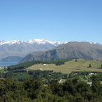 Wanaka Lake View From Iron Mountain