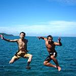 Jetty jump!