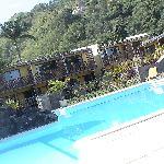 vu de la superbe piscine