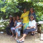 Tina and her family, Sandy, Ewa, dec 2002