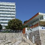 Neptun Hotel from outside