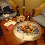 Fruit Platter & Wine