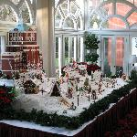 Homestead built from gingerbread