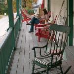 Very comfortable upper porch.