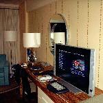 Zimmer mit Flat-TV und Internet
