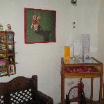 Postcards and handicrafts