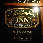 Saragossa Inn- All booked up!