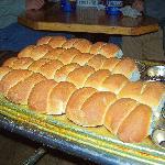 Fresh hot rolls all day long