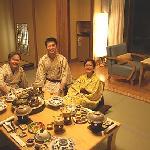 Shimoda Yamatokan cozy kaiseki family dinner