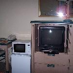 TV, Micro and Refrigerator