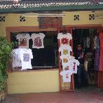 Hand-painted batik shop