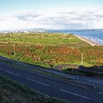 view overlooking royal portrush