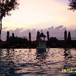 Swimming at Sundown
