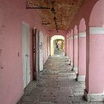 Typical walkway in Christiansted