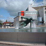 The statue of Tom Finney