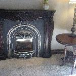 Fireplace in Our Room