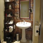 the cool bathroom