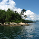 Eastern point of Ilha Grande