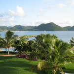 Rodney Bay from Balcony (Sandals Grande St. Lucian)