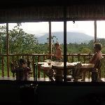 My boys enjoying the view