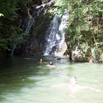 Waterfall at Gatun Lake JUNGLEBOAT TOUR
