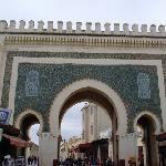 A beautiful gate in Fes