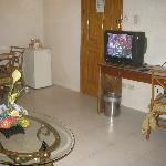 Dining Area, entrance and TV