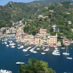Portofino from Castle Brown (well worth a visit)