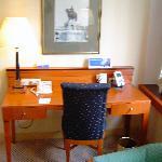 desk in room