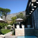 The pool at KP