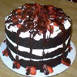 Strawberry Forrest Cake