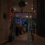 Park Hotel Restaurant's Entrance