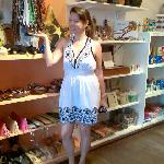 prettyThet at island souvenir shop., great buys at miniloc island resort